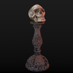 Skull-table2_Diffuse0037.png Download STL file Human Skull Low Poly • 3D printable object, 3dmeshstudios-sales