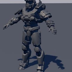 ametrallladora633.jpg Download OBJ file halo reach jorge 052 • 3D printing object, navedeguerraa