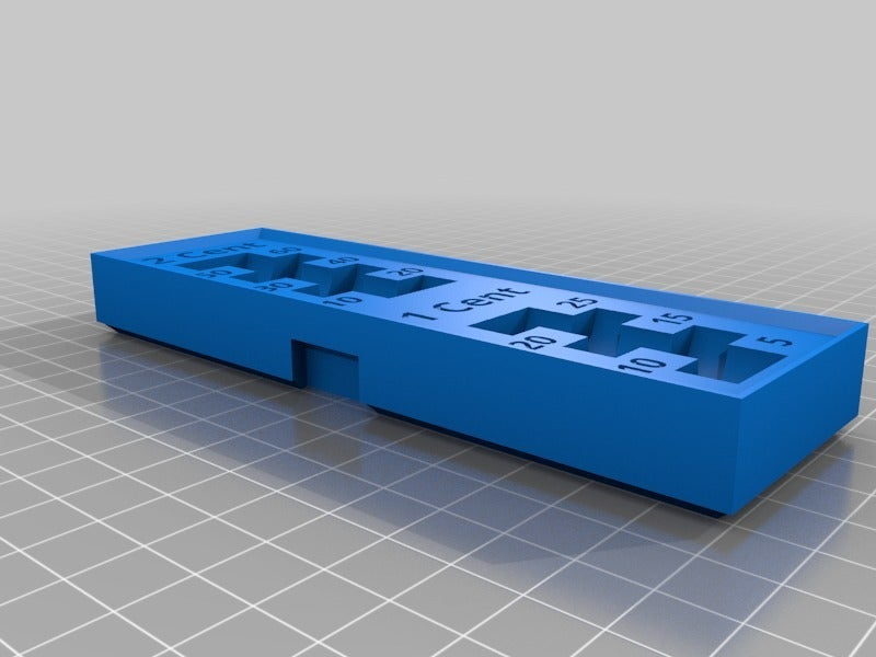 2e6f8e90d982b5cea7e59f5b32c4d16c.png Download STL file Euro/Cent coin organizer • 3D printable object, BePrint