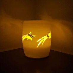 20181125_142130.jpg Download free STL file Tealight holder cilinder with Stars • 3D print object, Peter-Jan