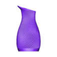 Spiral_Pitcher.STL Download free STL file Spiral Pitcher • 3D print template, PRINTinZ