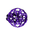 Grid_ball_support.stl Download free STL file Grid ball • 3D printing model, robinfang