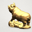 Chinese Horoscope12-B02.png Download free STL file Chinese Horoscope 12 pig • Model to 3D print, GeorgesNikkei