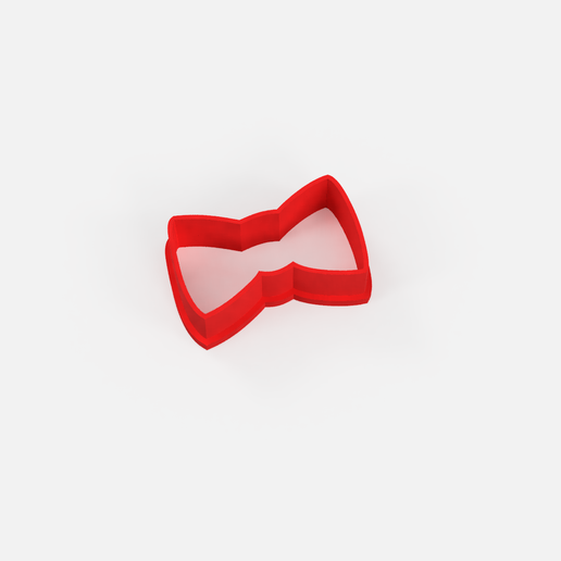 moño cortante.png Download free STL file Cutting gift bow - gift bow cookie cutter • 3D printable design, Abayarde