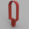 Popsicle Cooke Cutter v1.png Download free STL file Popsicle Cookie Cutter • 3D printer object, upperpeninsulaplastics