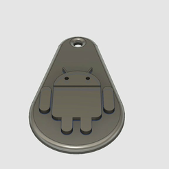 android.png Download free STL file Android Key Fob • 3D print design, pol_whistle