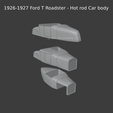 New-Project-2021-06-21T233106.367.png Download STL file 1926-1927 Ford T Roadster - Hot rod Car body • 3D printable model, ditomaso147