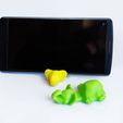 IMG_20191003_161850_p.jpg Download free STL file Elephant Keychain / Smartphone Stand • 3D print object, Shira