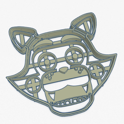 foxy.PNG Download STL file Cookie Cutter Foxy Cookie Cutter • 3D printer object, ELREYSALE