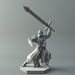 Capture_d_e_cran_2016-08-10_a__14.42.50.png Download free STL file Warrior - D&D miniature • 3D printer template, 3D-mon