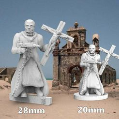 fatherpeter.JPG Download free STL file 28mm Version of Father O'Pray - DarkFuture • 3D printing object, BigMrTong