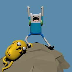 1.jpg Download free STL file Adventure Time OP • Model to 3D print, Faustisimo