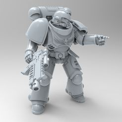 E1362FBE-D008-4D29-97EB-5D17BA87BBF0.jpeg Download free STL file Primaris Poseable Marine V2 • 3D printer design, KrackendoorStudios