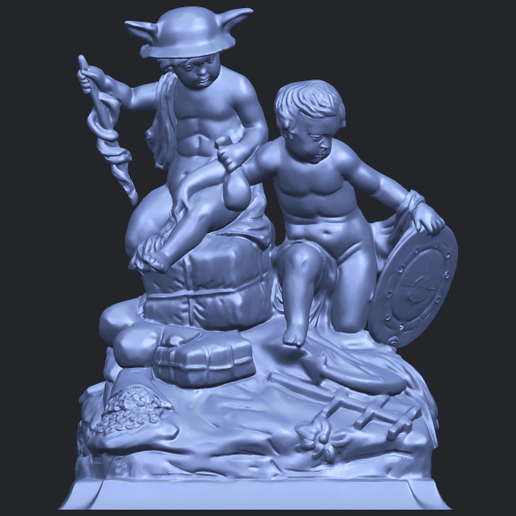 23_TDA0271_Two_kids_iiB01.png Download free STL file Two kids 02 • 3D printable model, GeorgesNikkei