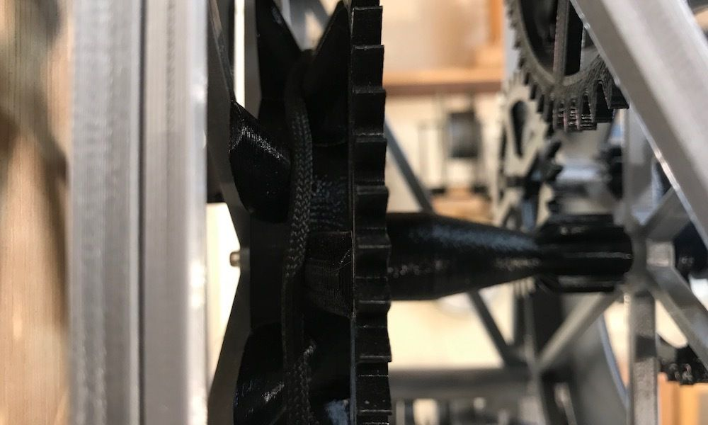 mainPulley.jpg Download free 3MF file Christian Huygens 3D printed clock • Design to 3D print, JacquesFavre