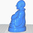 pleft.png Download free STL file Buda del Capitán Picard (Colección Star Trek) • 3D printable object, ToaKamate