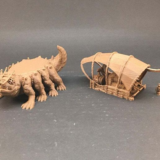IMG_1400.JPG Download free STL file Ale Trader's Rig for 28mm miniatures gaming • 3D printing design, Brease