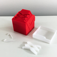 rouge_decoupe.png Download STL file SHOECUBE • 3D printable object, TheWell