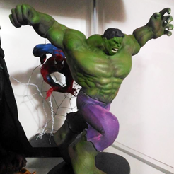 Capture d'écran 2018-01-25 à 12.54.55.png Download free STL file Hulk Statue • 3D printer design, Fabiosartbox