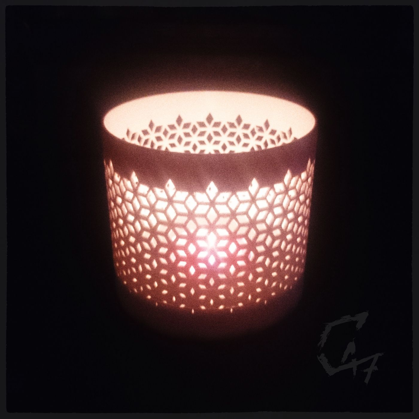 Candle cover_6.jpg Download STL file Candle / Tealight Covers Set • 3D printing model, c47