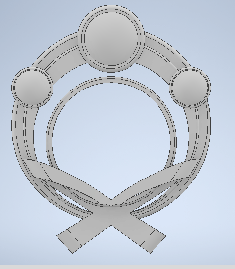Front.png Download STL file Genshin Impact Thoma Accessories • 3D printer template, letruongson
