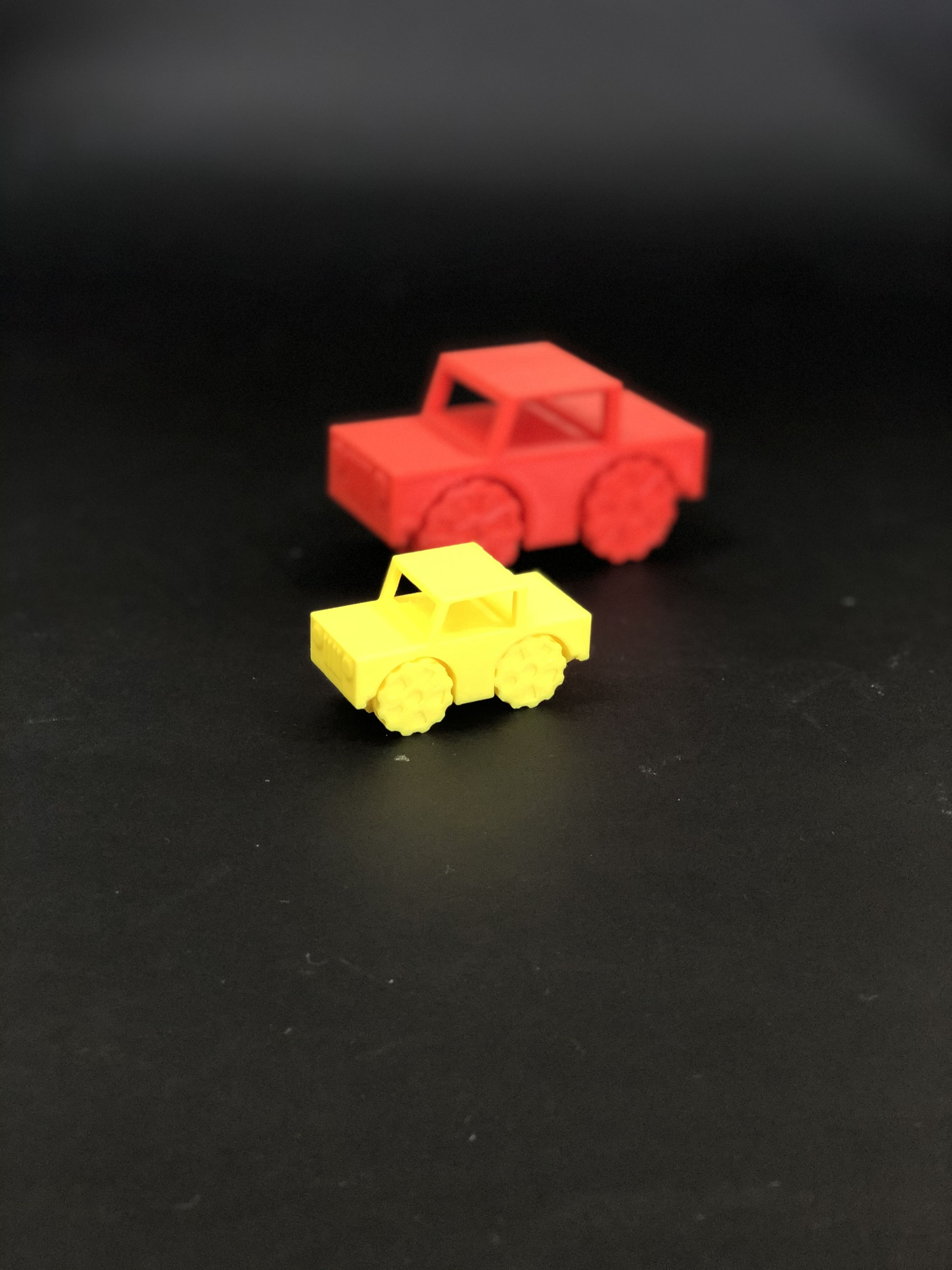 IMG_1110.jpg Download free STL file Little Jeep Car - PIP (Print In Place) without support • 3D printable template, uniduni3d