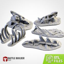 TXFA_WEB_bones_01.jpg Download STL file BONEY TERRAIN • 3D printer design, Txarli_Factory