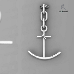 Capture_d_e_cran_2016-03-31_a__15.26.48.png Download STL file Anchor - Coat rack • 3D printing template, Salokannel