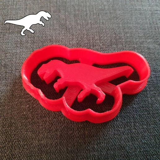 dino-rex2.jpeg Download STL file Dino Cookie Cutters T-Rex • 3D printable object, hobby3dprinting