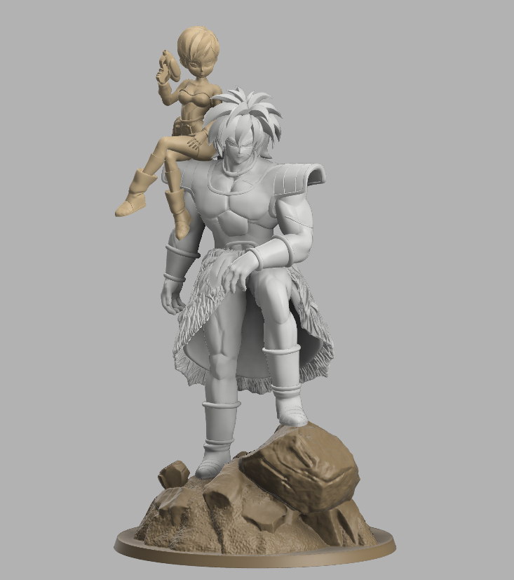 Annotation 2020-09-03 174047.png Download STL file Chirai and Broly  • Model to 3D print, DBZmodel