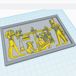 0.png Download free STL file The Weighing of the Heart - Ancient Egypt • 3D printer design, oasisk