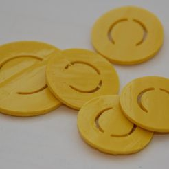 candy_coin_display_large_display_large.jpg Download free STL file Candy Coins • 3D print object, billythemighty3Dprinter