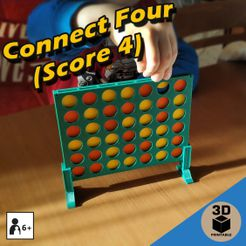 cover1b.jpg Download STL file Connect Four (Score 4) • 3D printable model, sokinkeso