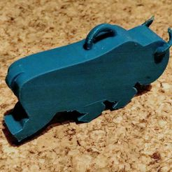 IMG_20201014_205612_.jpg Download free STL file Working Bison Whistle (REMIX - 6 legs and eyelet) • 3D printing design, BeInspiredwithDominic