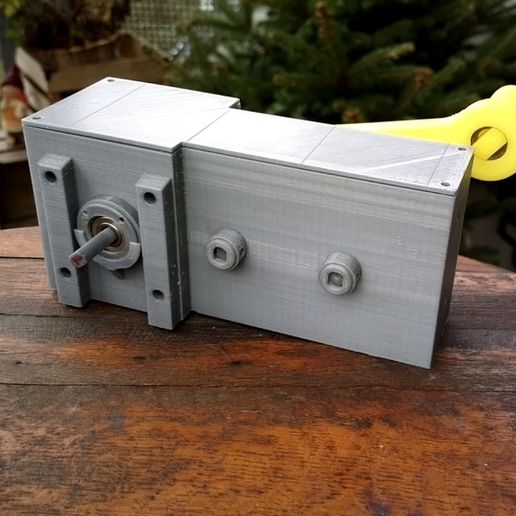 Foto01.jpg Download free STL file Gearbox 256 / Getriebe 256 • 3D printer object, CONSTRUCTeR