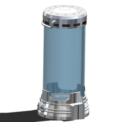 CLONING-CHAMBER-01.png Download STL file CLONING VAT • 3D printing object, guilleabm83