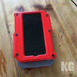 2016-07-30_KG-Factory-100.jpg Download free STL file BATTERY FOR IPHONE5 • 3D printable object, DjeKlein