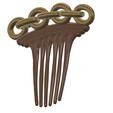 Hair-comb-10-v6-03.png Download 3MF file FRENCH PLEAT HAIR COMB Multi purpose Female Style Braiding Tool hair styling roller braid accessories for girl headdress weaving fbh-10 3d print cnc • 3D printable object, Dzusto