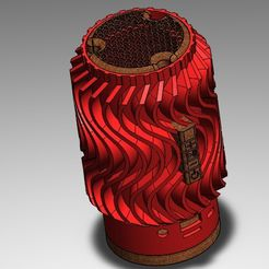 speaker.jpg Download file Speaker 3D with tf • Object to 3D print, jaulalrom