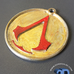 Capture d'écran 2017-05-15 à 09.36.50.png Télécharger fichier STL Assassins Creed Keychain • Design à imprimer en 3D, Donegal3D