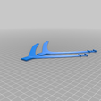 Robagon_HeadCradle_Middle_Split_Pair.png Download free 3MF file Off Ear Comfy Mask Strap for Boat Style Masks • Model to 3D print, RobagoN