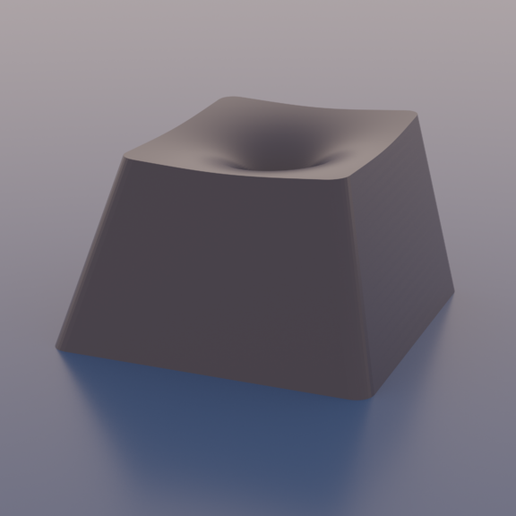 3d_surface_dish_-_gabriels_horn.png Download free STL file Math Keycaps • 3D printer design, rsheldiii
