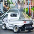 06.jpg Download STL file Suzuki Carry Style model with bodykit - Complete Model  • Object to 3D print, BlackBox