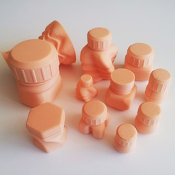 Capture_d__cran_2014-10-14___10.10.18.png Download STL file Bottles and Screw Caps • 3D printable model, David_Mussaffi