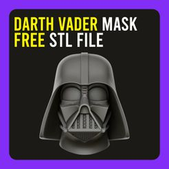 C.jpg Download free STL file ▷ Darth Vader Mask • 3D printable design, gersith