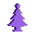 tree16_small.stl Download STL file Merry Pixel Christmas!! • 3D printing model, Dayoung_Chung