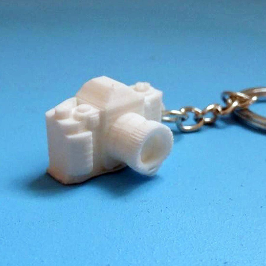 dghfgsdfw.jpg Download free file Camera Keychain _ Camera Keychain • 3D printer design, LaWouattebete