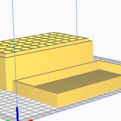 45 ACP.png Download STL file 45 ACP (50 Rounds) Stackable Ammo Storage • 3D printer template, BACustomsMN