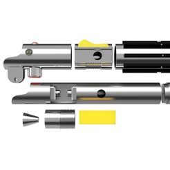 Sable_Anakin_Skywalker_3.jpg Download STL file Anakin Skywalker lightsaber • 3D printer object, nr_modelos3d