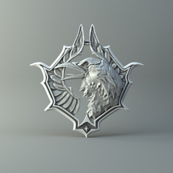 Capture_d_e_cran_2016-08-03_a__13.50.24.png Download free STL file Witcher raven • 3D printable object, 3D-mon